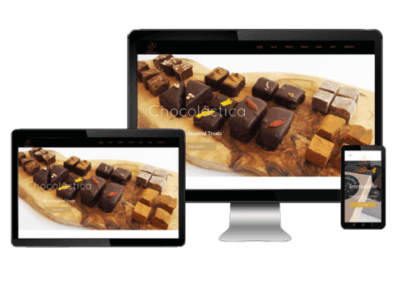 Webshop van Chocolactica